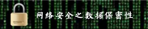 网络安全之数据保密性