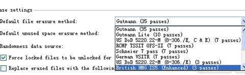 网络安全之数据销毁软件Eraser