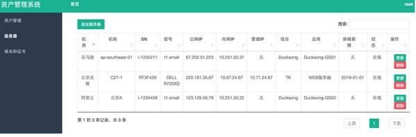 优秀开源项目介绍woniu-cmdb