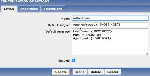 zabbix客户端自动注册