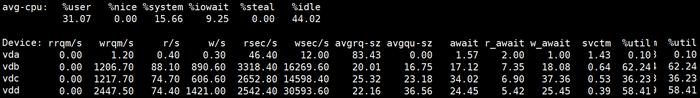 prometheus和node_exporter中的磁盘监控