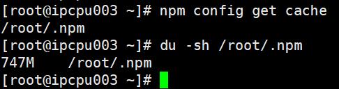 nodejs在docker环境进行npm install的缓存问题